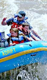 Moab Rafting Family photo by Lori Adamski Peek