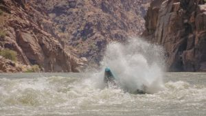 Moab River Rafting Splash by Adrift