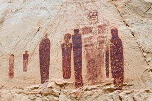 Ghosts of Horseshoe Canyon in National Park