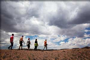 fiery furnace hiking group